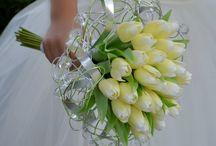 svatební kytice pro Lenku