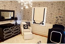 Black & White Baby and Kids Rooms / Black and White kids and baby rooms to inspire.