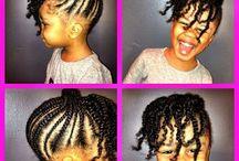 Kid braid styles