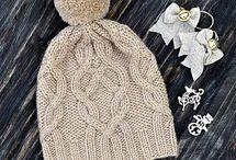 Идея - вязаные шапки