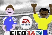 Fake FIFA 14 covers