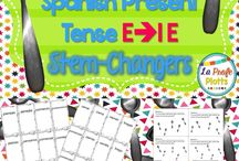 Spanish-stem changers (e-ie, o-ue, e-i)