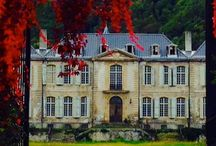 Chateau de Gudanes, France Following with a passion. / In 2013, Australian husband & wife team Karina and Craig Waters purchased the Chateau de Gudanes, a decaying fairytale mansion in the Midi-Pyrénées.  This beautiful place is now Lovingly in the process of restoration.