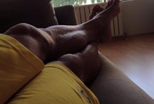 Bodybuilders Feet And Legs