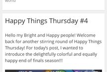 Happy Things / My board of happy and pretty things that can maybe inspire others and make other people happy.