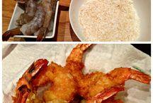Recettes de plats principaux : poissons et fruits de mer / Recettes de plats principaux avec des poissons et des fruits de mer : crevettes, homards, pétoncles, saumon, pieuvre, etc.
