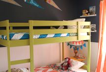 (Bed)room for two / Ideas for shared children's bedrooms and joint spaces.