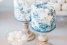 Wedding Cake Inspiration Shoot / Tablescape and cake table styled shoot ideas including dressing table idea. Using french furniture and neutral backdrops as inspiration. All with a fine art feel