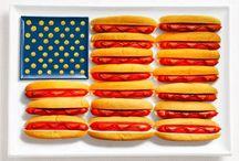 Yenilebilir Bayraklar / Bu bayraklar yenilebiliyor! Ülkelere özgü yiyecekler ile yapılan bayraklar görenleri şaşırtıyor.