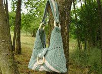 Kötött és horgolt táskák
