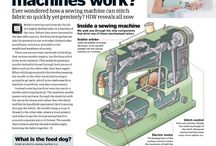 sewing machines how they work