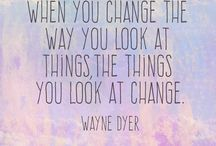 Quotes by dr. wayne dyer / In the memory of my hero