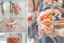 ஜ Wedding Mood by Mood Event ~ Peach Wedding ~ mariage pêche ஜ