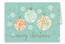 Simply Christmas Cards / A collection of Christmas cards for friends and family. Custom and personalized greeting cards that express sentiments of Seasons Greetings, Happy Holidays, Happy New Year and of course, Merry Christmas.