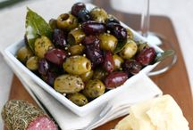 Perfect party platters / Inspiration for making the perfect platter - with olives of course!