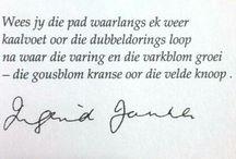 Afrikaans <3 / My language...