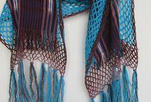 scarf-shawl / handmade