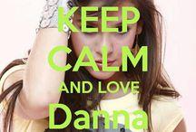 <3 Keep calm: Danna Paola <3 / Este tablero lo he creado para tener todos los Keep calms de Danna Paola :)