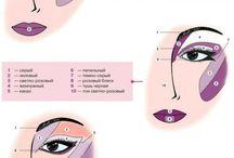 make up - oči