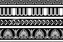 greckie wzory