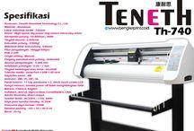 Kelebihan mesin cutting sticker Tenenth TH-740