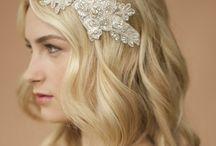 Lace headband / Ideas and materials for bridal headband