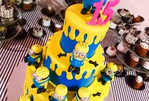 Minion Cake Ideas / Find inspiration for creating a mischievous Minion cake with our ideas board, featuring a selection of creative and totally different ideas for bring your Minion cake to life. - Minion cakes, Gru, Despicable Me cake, Minion Movie, yellow minion, Minion cupcakes, Minion Cake Pops