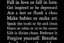 Words to Live By / by Christina Loyd