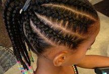 tresses enfant africaine / Tresses enfant
