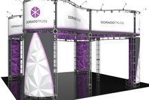 20x20 Trade Show Booths / Trade Show Booths and Trade Show Displays (20'x20')