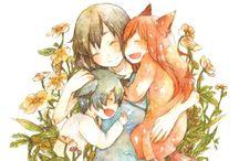 the wolf children :3 <3♥♥