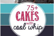 Cakes/Cupcake and Biscuit Recipes