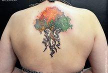deexen's tattoos
