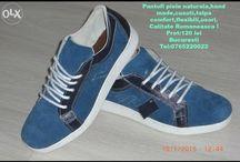 Pantofi Sport Piele Barbati