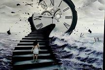 schody zegar