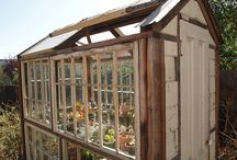 Garden Sheds and Greenhouses / by Bonnie Hayes