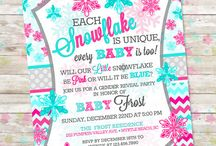 Winter Gender Reveal Party / by Dreamlike Magic Designs