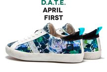// D.A.T.E. SPRINGTIME 2015 / APRIL 2015: One month with D.A.T.E. Everyday with a different D.A.T.E. style.  #datesneakers www.date-sneakers.com
