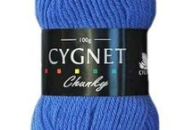 Cygnet Chunky / Part of our signature Cygnet range, Cygnet Chunky is perfect for a wide range of knitting projects, from jumpers and sweaters to hats and scarves. Chunky yarns are great for quick and big knit projects and create super soft results.
