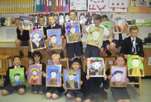 J4H Self-Portraiture artwork (2015) / Royal Tudor self-portraits inspired By Hans Holbein by Y4H