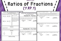 Proportions and Ratios of Fractions