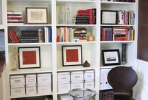 Bookshelves / by Rebecca Saldana