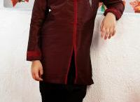 Kids Sherwani / Kids Sherwani comprises of a Kurta- like Sherwani, a Churidar, and a Dupatta, and is stitched in premium quality fabric with minute detailing. We have a great range of Sherwanis for kids.