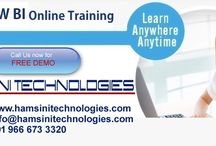 SAP BW/BI Online Training / Hamsini Technologies is the institute which can provide you the Best Online, Classroom & Corporate Trainings with Live Projects by 13+ years Real Time Industry Experts from Hyderabad, India. We provide SAP BW/BI, ABAP, FICO, HANA, BO, BODS, HR…etc. We also provide every recorded session after every class. Email: info@hamsinitechnologies.com Phone: +91 9666733320