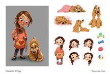 2D Character Designs