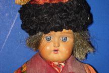 Русские куклы антик