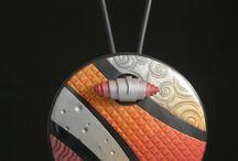 Polyclay pendants / Polyclay pendants