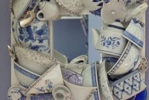 tea pots  tea cups / by Aloma Chase