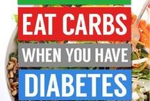 eat carbs. when you have diabetes