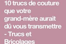 Trucs couture